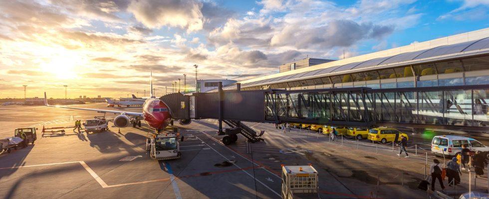 vol reporté à l'aeroport