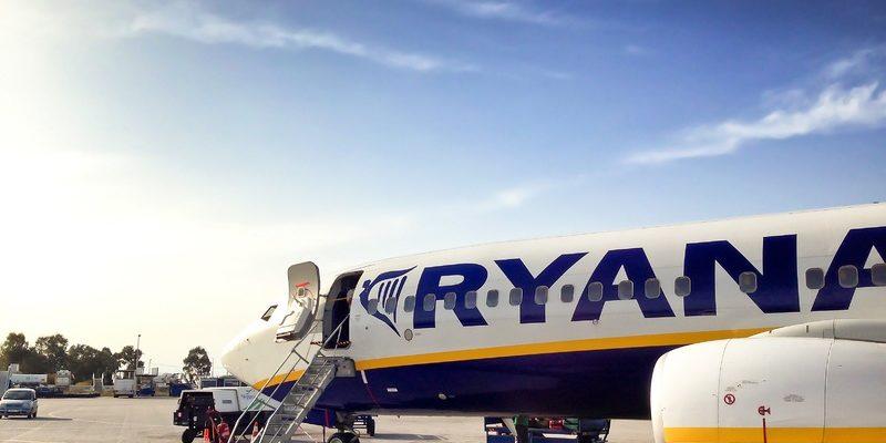 avion ryanair grève