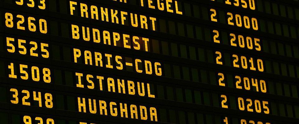 aéroport retard vols informations