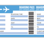 boarding pass et données personnelles
