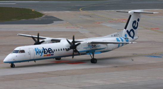 avion flybe faillite